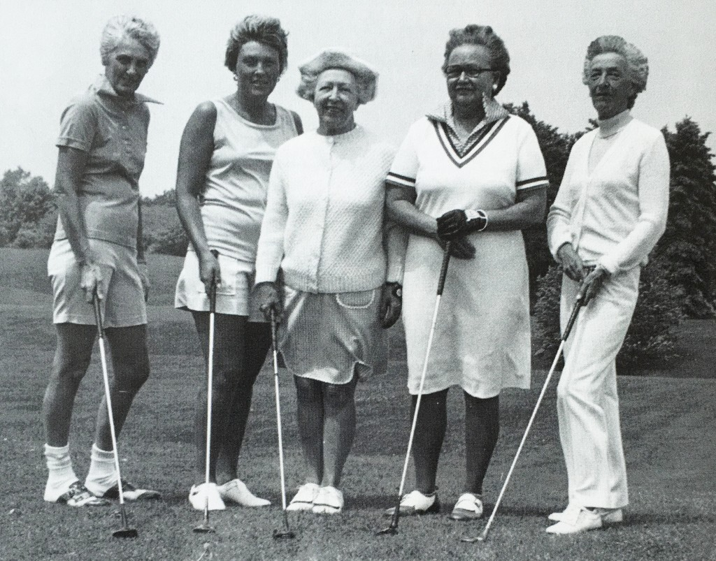 golf ladies at Manistee Golf and Country Club located on the Shores of Lake Michigan